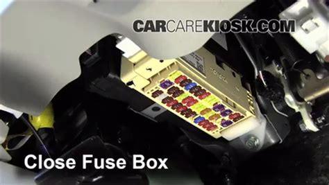 interior fuse box location: 2012 2014 toyota camry 2012