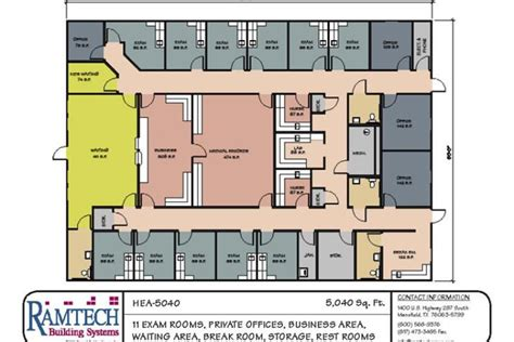 physical therapy clinic floor plans modular medical building floor plans healthcare clinics