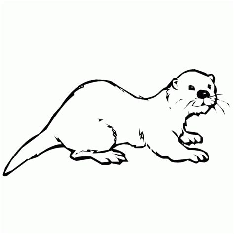 Otter Coloring Page coloring pictures categories animals otter