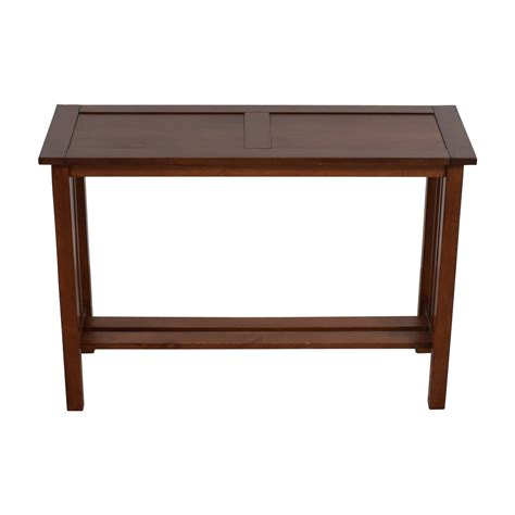 crate and barrel sofa table 81 off ethan allen ethan allen side table tables