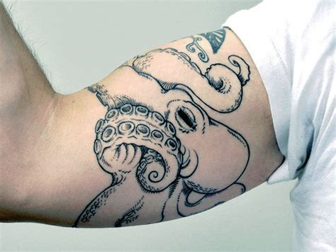 octopus tattoo for men 60 octopus designs for sea tentacles