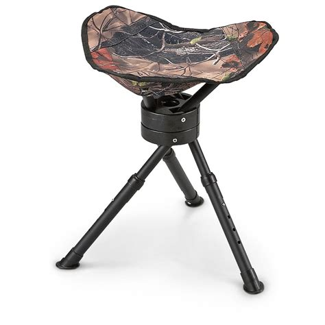 Folding Tripod Stool Portable Seat by Guide Gear Folding Tripod Swivel Stool 222293 Stools