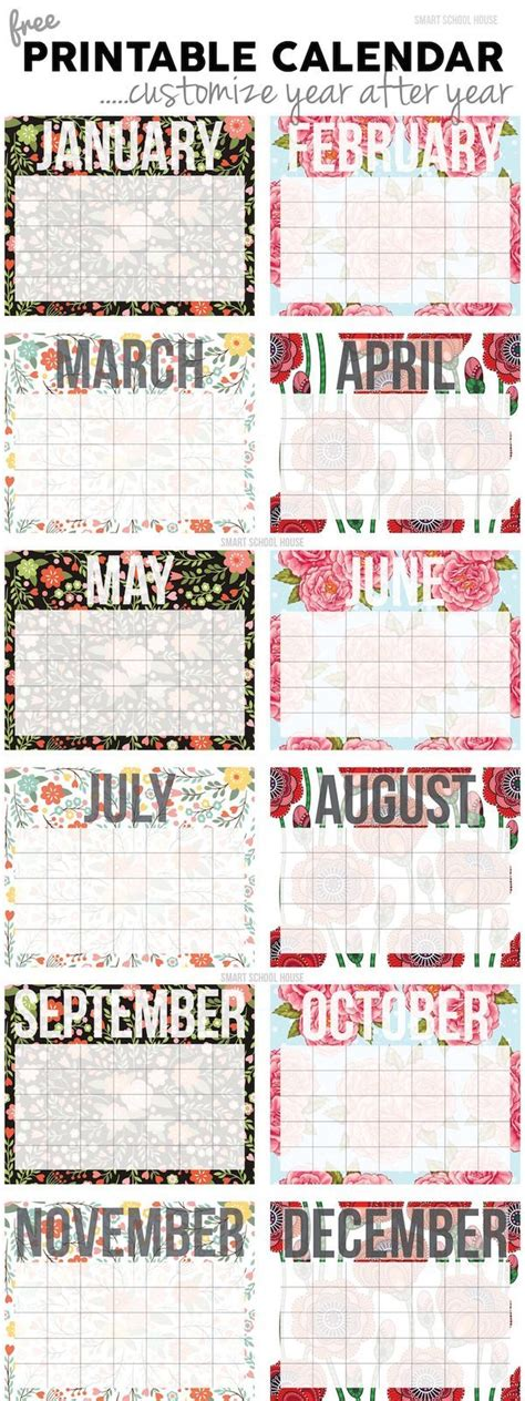 printable planner markers best 20 free calendars ideas on pinterest free