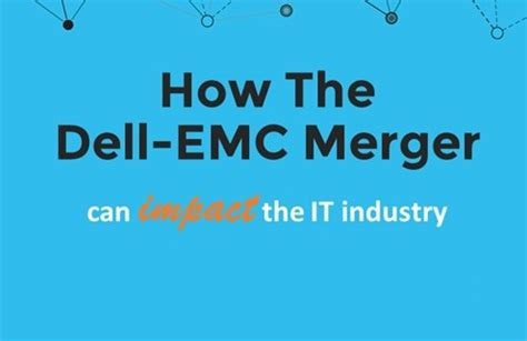 Emc It Help Desk Number by How The Dell Emc Merger Can Impact The It Industry