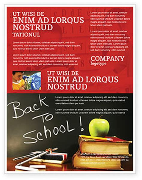 school flyers templates free back to school flyer template background in microsoft