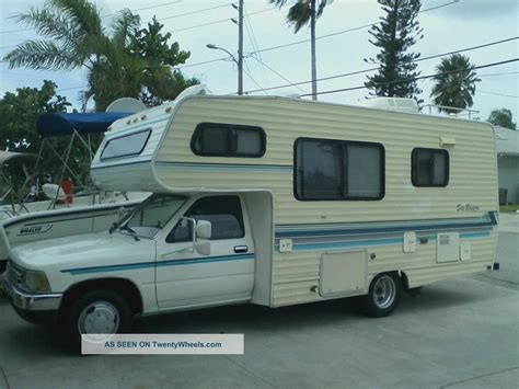 toyota motorhome for sale chinook dolphin sunrader html