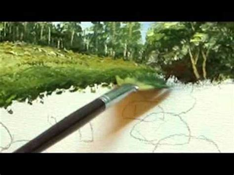 acrylic paint grass how to paint grass part 5 landscape painting