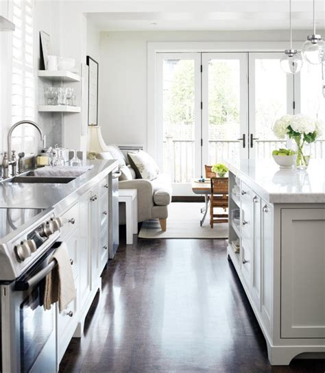 mlle magpie wonderful white kitchens