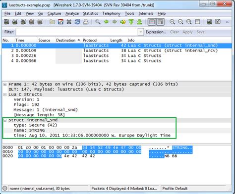 wireshark dissector tutorial lua introduction csjark 1 0 documentation