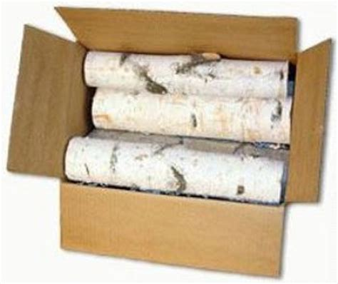 decorative birch logs and birch firewood for sale