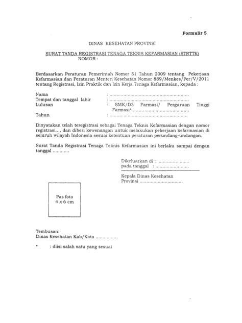 permenkes no 889 tahun 2011 tentang registrasi izin