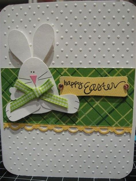 Handmade Easter Cards - easter card easter and bunnies on