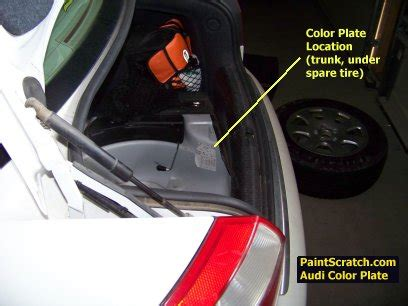 audi touch up paint | color, code, and directions for audi