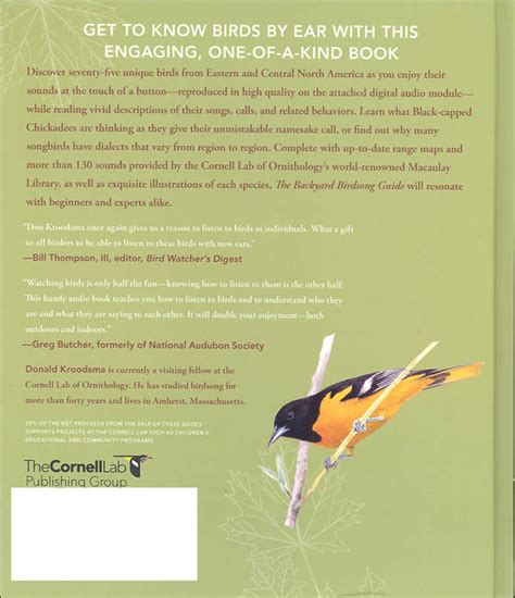 backyard birdsong guide backyard birdsong guide eastern and central north america