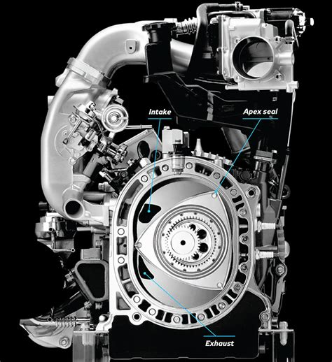 how it works the mazda rotary engine with video