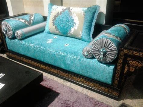 canapé style marocain salon sejour marocain moderne