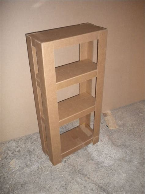 easy cardboard shelves 3 steps