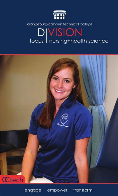 publications orangeburg calhoun technical college nursing health science by orangeburg calhoun technical