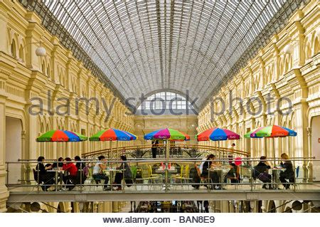 interior department ban interior of the gum department store moscow russia stock photo royalty free image 137946351