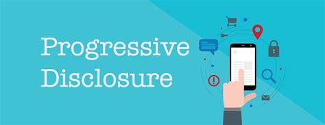 ui pattern progressive disclosure design patterns progressive disclosure for mobile apps