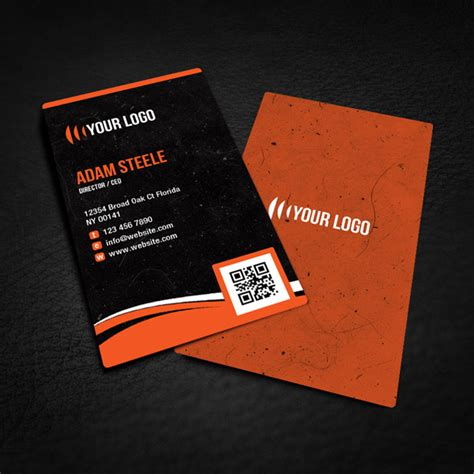 business card templates designs free rounded corner business card design