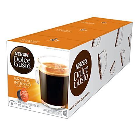 Nescafe Dolce Gusto Capsule Grande Intenso Murah nescaf 201 dolce gusto coffee capsules grande intenso 48