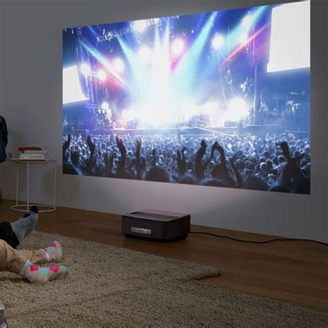 Home Theater Projector In Living Room The Floor Living Rooms And Home Theaters On