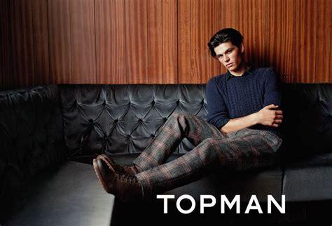 Topmen Gw 1 george for the topman aw14 caign topman georgestevens model malemodel newface