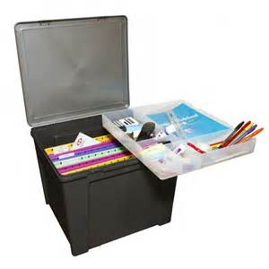 buy office in a box with removable tray and suspension files