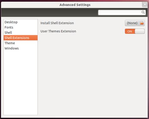 gnome user themes extension make your gnome 3 linux desktop look like ics with ice