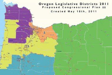 oregon congressional district map redistricting a new democratic map addresses objections