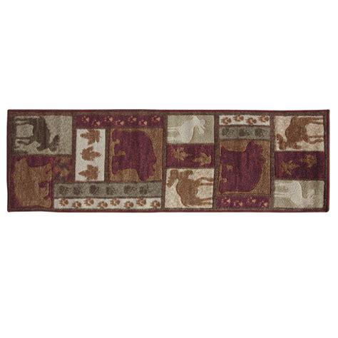 wilderness tracks plush carved rug 2 x 5