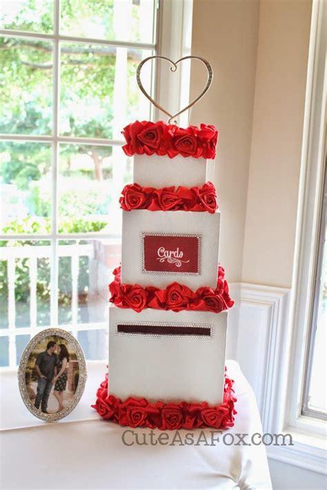 Wedding Card And Cake Box by Baseball Themed Wedding