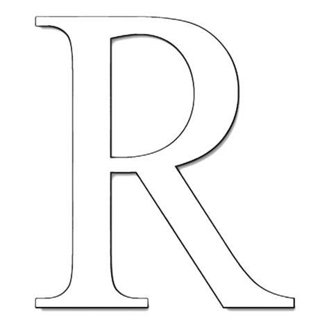 lettere da disegnare disegno di lettera r da colorare per bambini