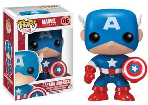 Original Funko Pop Marvel Captain America With Photon Shield 159 funko pop captain america figures checklist gallery