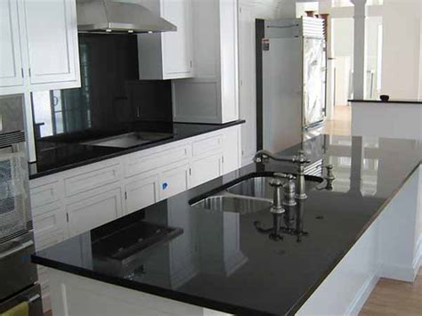 black granite kitchen countertops backsplash ideas for black granite countertops the