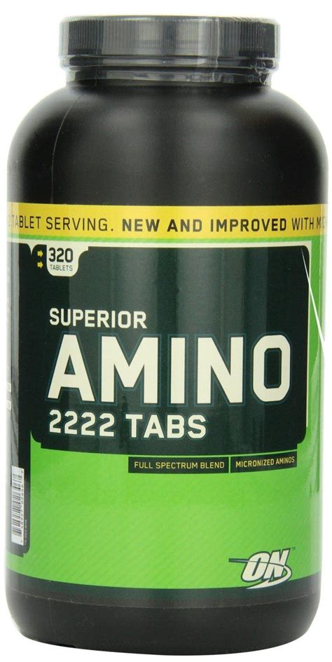 Amino On 2222 320 Tabs On Amino optimum nutrition superior amino 222 end 1 16 2018 6 15 pm