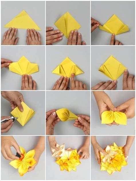 Origami Decorations For - diy origami kusudama decoration