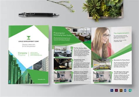 booklet layout software 15 software company brochures design templates free