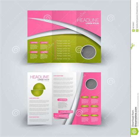 tri fold brochure template docs brochure template best sles templates
