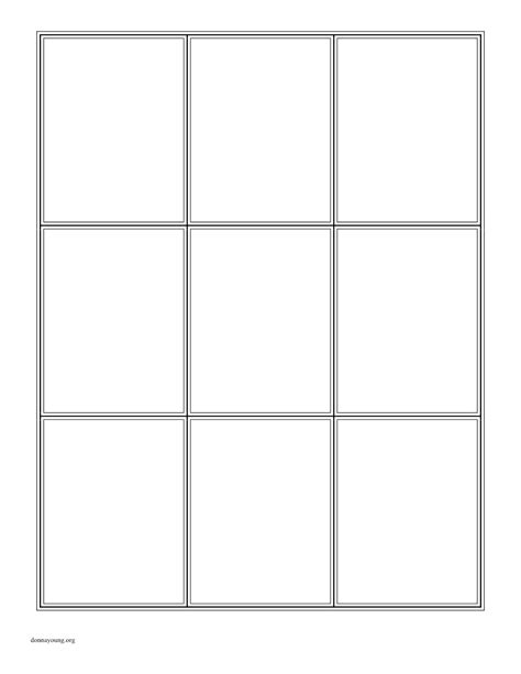 Q Card Template board template