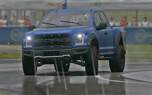 2017 ford f150 raptor top gear test track in the