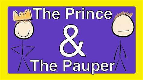 prince and the pauper book report the prince and the pauper by book summary