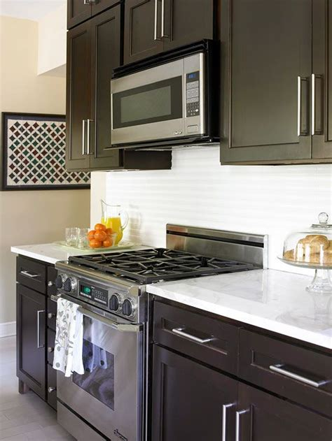 small kitchen with dark cabinets small kitchen remodel blending old and new square feet