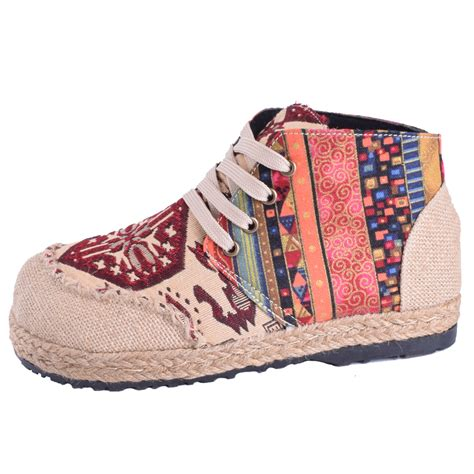 boho sneakers boho embroidered s shoes styling bohemian