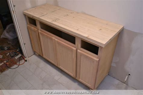 butcher block bathroom countertop diy butcherblock style countertop with undermount sink