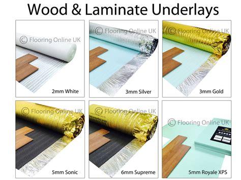 Wood / Laminate Flooring Underlay   Sonic Gold   Acoustic