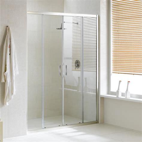 porte in vetro per doccia porta doccia con due ante scorrevoli per nicchia h 185 198