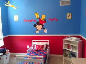 Toddler Mickey Mouse Bedroom Ideas 25 Best Ideas About Mickey Mouse Bedroom On