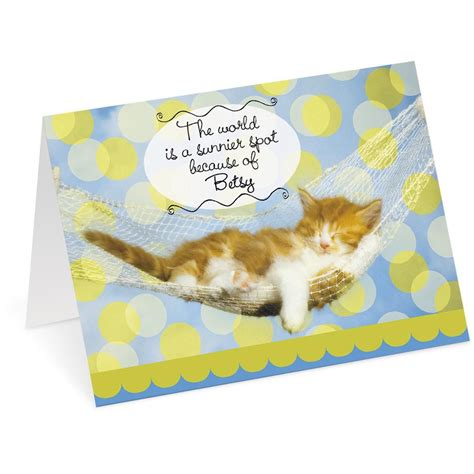 Current Birthday Cards Cat Birthday Card Current Catalog